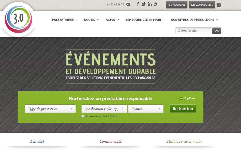 événements développement durable